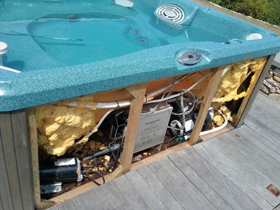 Hot tub & spa refurbishing / repair